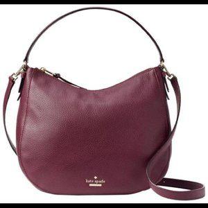 KATE SPADE Jackson Street Mylie Plum Crossbody Bag